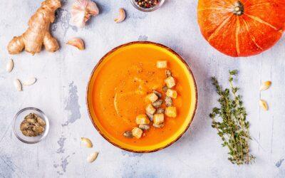 Rozgrzewająca zupa krem zdyni ipora